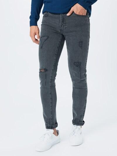 Denim Project Jeans 'MR. RED' in grey denim, Modelansicht