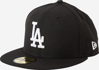 NEW ERA Cap '59Fifty' in schwarz / weiß, Produktansicht