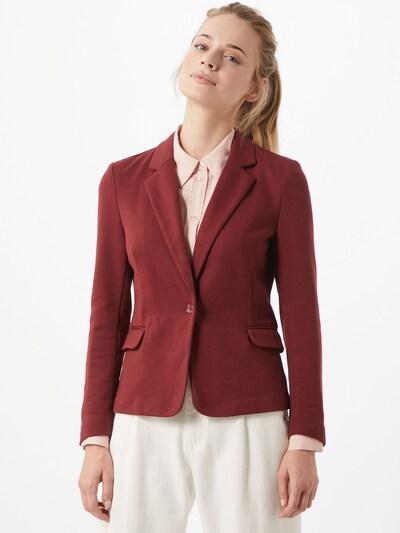 Blazer švarkas 'Julia' iš VERO MODA , spalva - vyšninė spalva, Modelio vaizdas