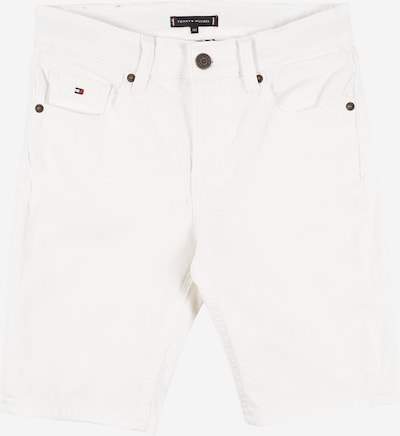 TOMMY HILFIGER Shorts 'SCANTON SOCDST' in white denim: Frontalansicht