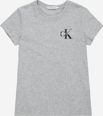 Calvin Klein Jeans Koszulka w kolorze nakrapiany szarym, Podgląd produktu