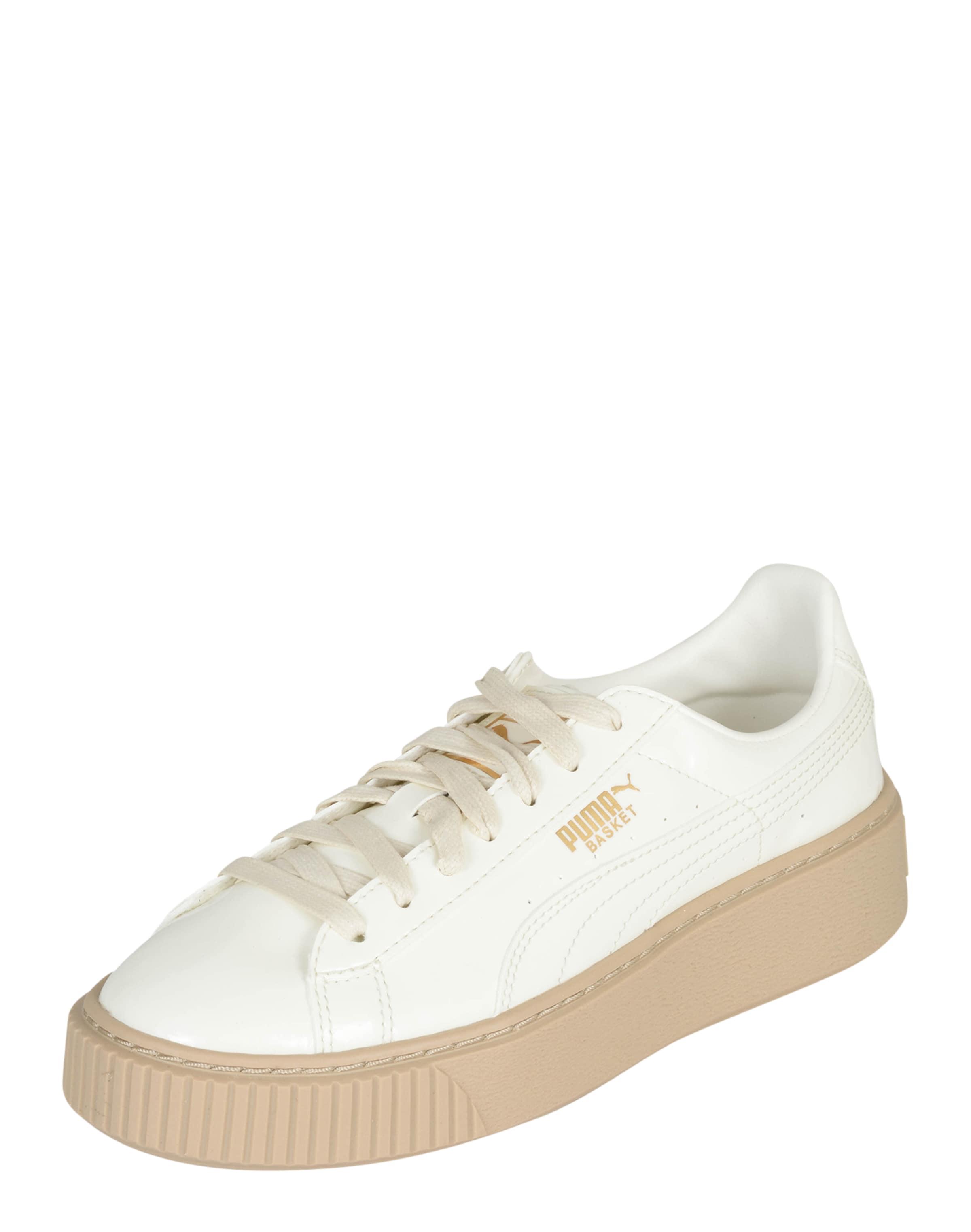 PUMA Platform-Sneakers Patent Verschleißfeste billige Schuhe