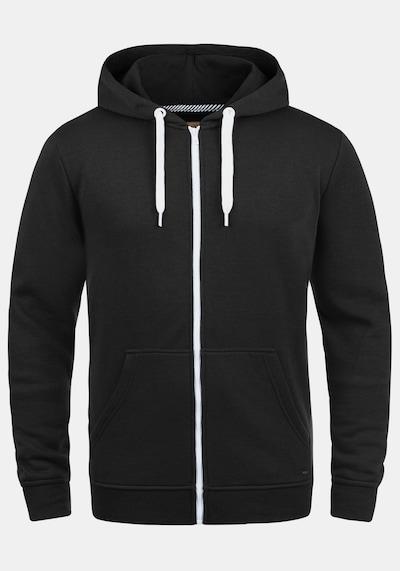 !Solid Kapuzensweatjacke 'Olli ZipHood' in schwarz, Produktansicht