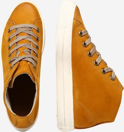 Sportbačiai su auliuku iš Paul Green , spalva - ruda (konjako): Vaizdas iš šono