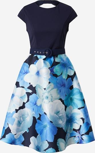 Dorothy Perkins Kokteilové šaty 'LUXE' - modré: Pohľad spredu