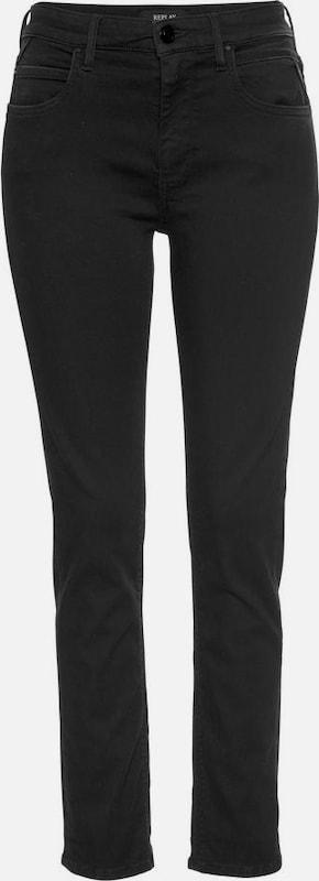 REPLAY Jeans 'Jacksy' in schwarz denim  Bequem und günstig