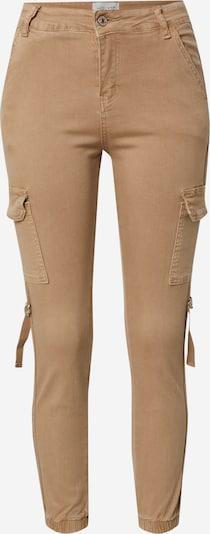 Hailys Kargo hlače | svetlo rjava barva, Prikaz izdelka