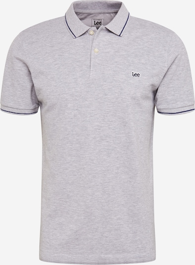 Lee Poloshirt 'PIQUE POLO' in grau, Produktansicht