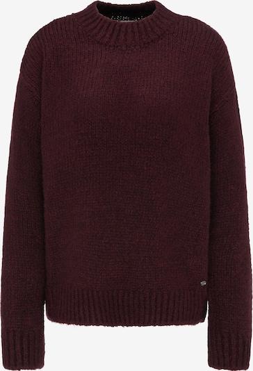 MUSTANG Sweater ' Carla C Soft Knit ' in dunkelrot, Produktansicht