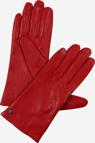 Roeckl Full finger gloves 'Classic Slim' in Red