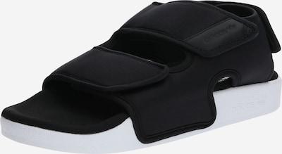 ADIDAS ORIGINALS Sandalen 'ADILETTE 3.0' in schwarz / weiß, Produktansicht