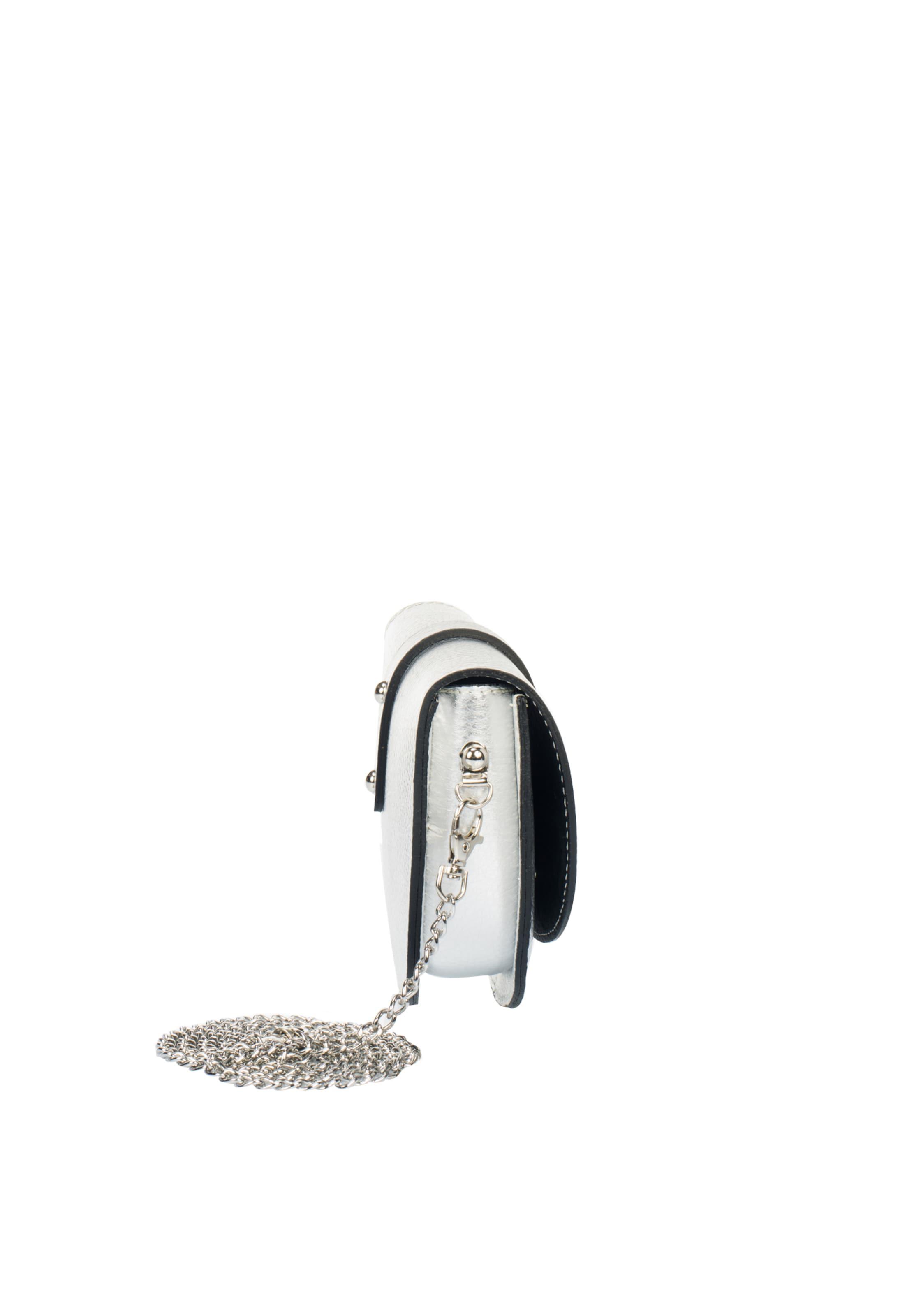 Silber Usha 'white Umhängetasche Label' In tsQdxBrhC