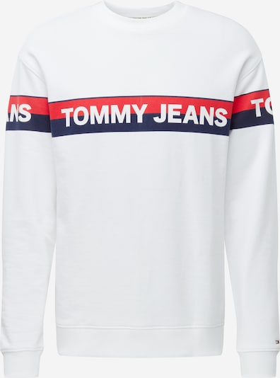 Tommy Jeans Sweatshirt in de kleur Wit, Productweergave