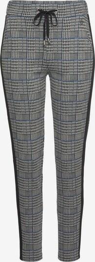 TAMARIS Hose in blau / schwarz / weiß, Produktansicht