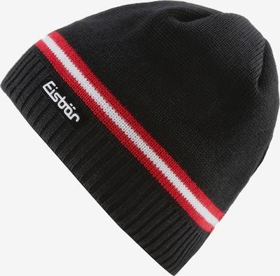 Eisbär Mütze 'Mountain' in hellrot / schwarz / weiß, Produktansicht