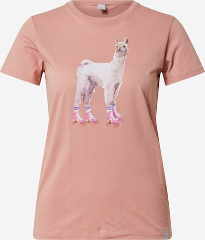 Iriedaily Shirt 'Rolama Tee' in rosa, Produktansicht
