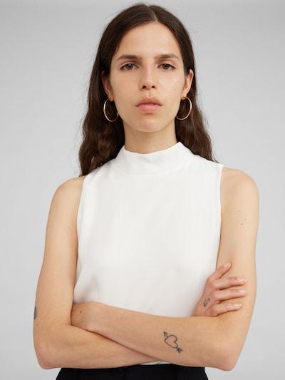 EDITED Bluse 'Maxim' in weiß, Modelansicht