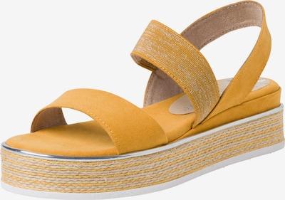 MARCO TOZZI Sandale in dunkelgelb, Produktansicht