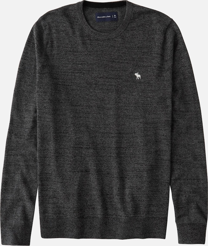 Abercrombie & Fitch Pullover in dunkelgrau, Produktansicht