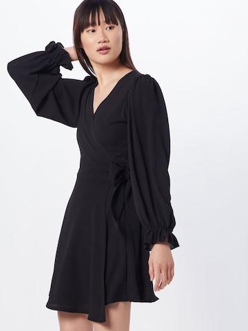 Boohoo Φόρεμα κοκτέιλ σε μαύρο