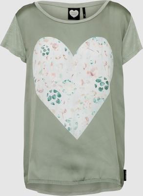 CATWALK JUNKIE Shirt 'Floral Leaf' in Kaki