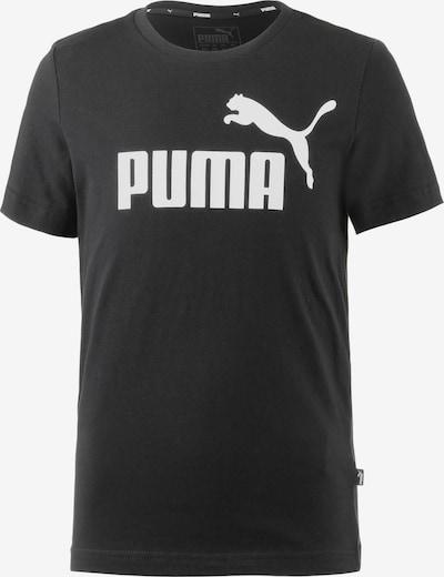 PUMA Tričko - černá / bílá, Produkt