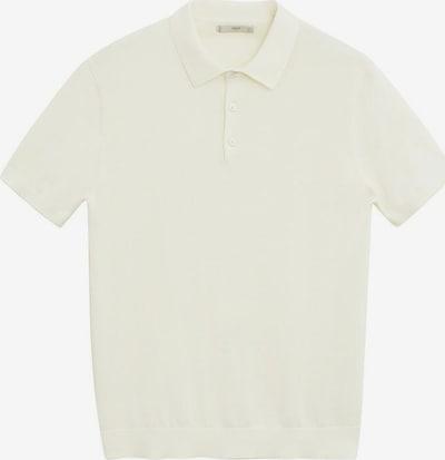MANGO MAN Poloshirt in weiß, Produktansicht