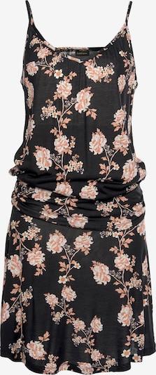 LASCANA Strandkleid in rosa / schwarz, Produktansicht