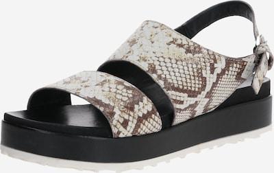 MJUS Sandalen 'SOS' in beige / schwarz, Produktansicht
