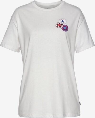 CONVERSE T-Shirt 'Distort' in ecru, Produktansicht