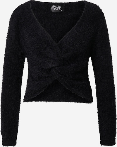 Parallel Lines Sweater in black, Item view