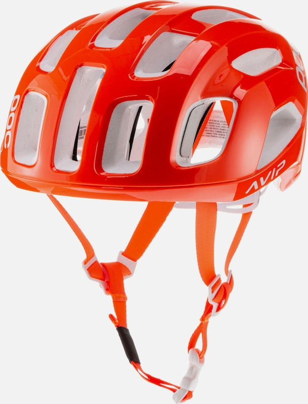POC Fahrradhelm 'Ventral AIR SPIN' in orange, Produktansicht