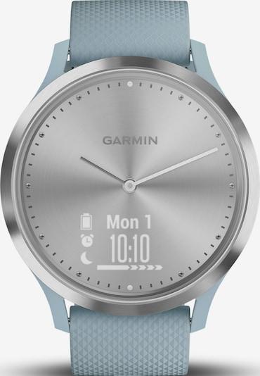 GARMIN Smartwatch in hellblau / silber, Produktansicht