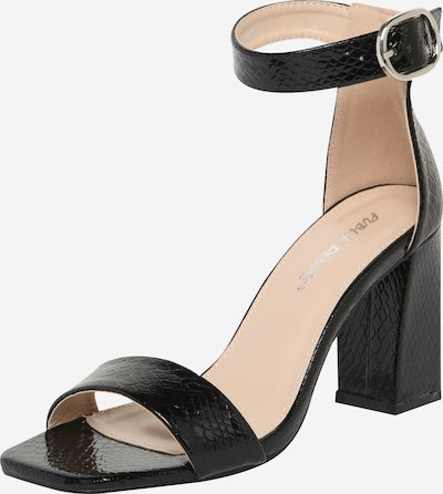 Public Desire Sandalette 'KARA' in schwarz, Produktansicht