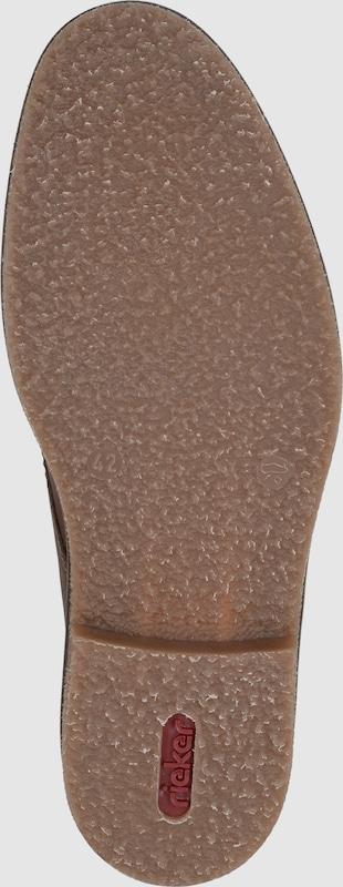 RIEKER Schnürschuh mit Lammwolle