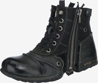 REPLAY Lace-up boots 'CLUTCH' in Black, Item view