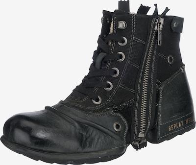 REPLAY Schnürstiefel 'Clutch' in schwarz, Produktansicht