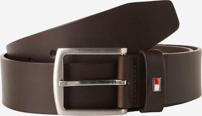 TOMMY HILFIGER Riem 'New Denton' in de kleur Donkerbruin, Productweergave