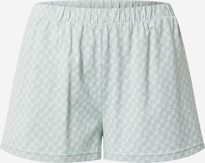 JOOP! Bodywear Pantalon de pyjama en jade / blanc, Vue avec produit
