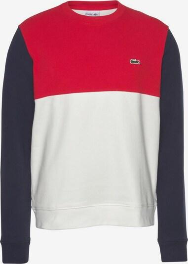 LACOSTE Sweatshirt in blau / rot / weiß, Produktansicht