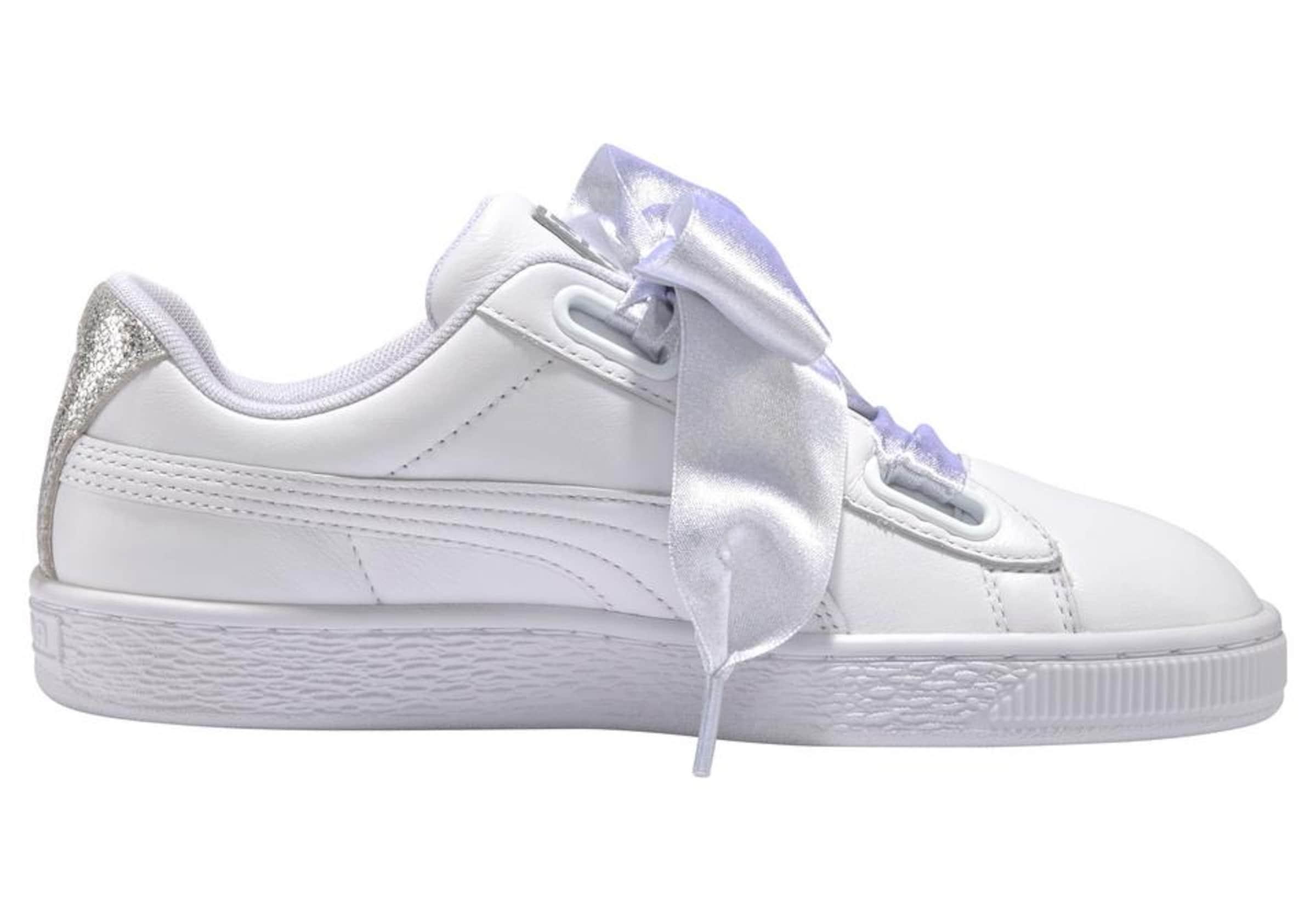 'basket Heart Sneaker Puma In Bio SilberWeiß Hacking' FJlKcT1