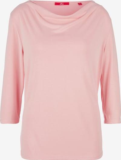 s.Oliver Shirt in rosa, Produktansicht