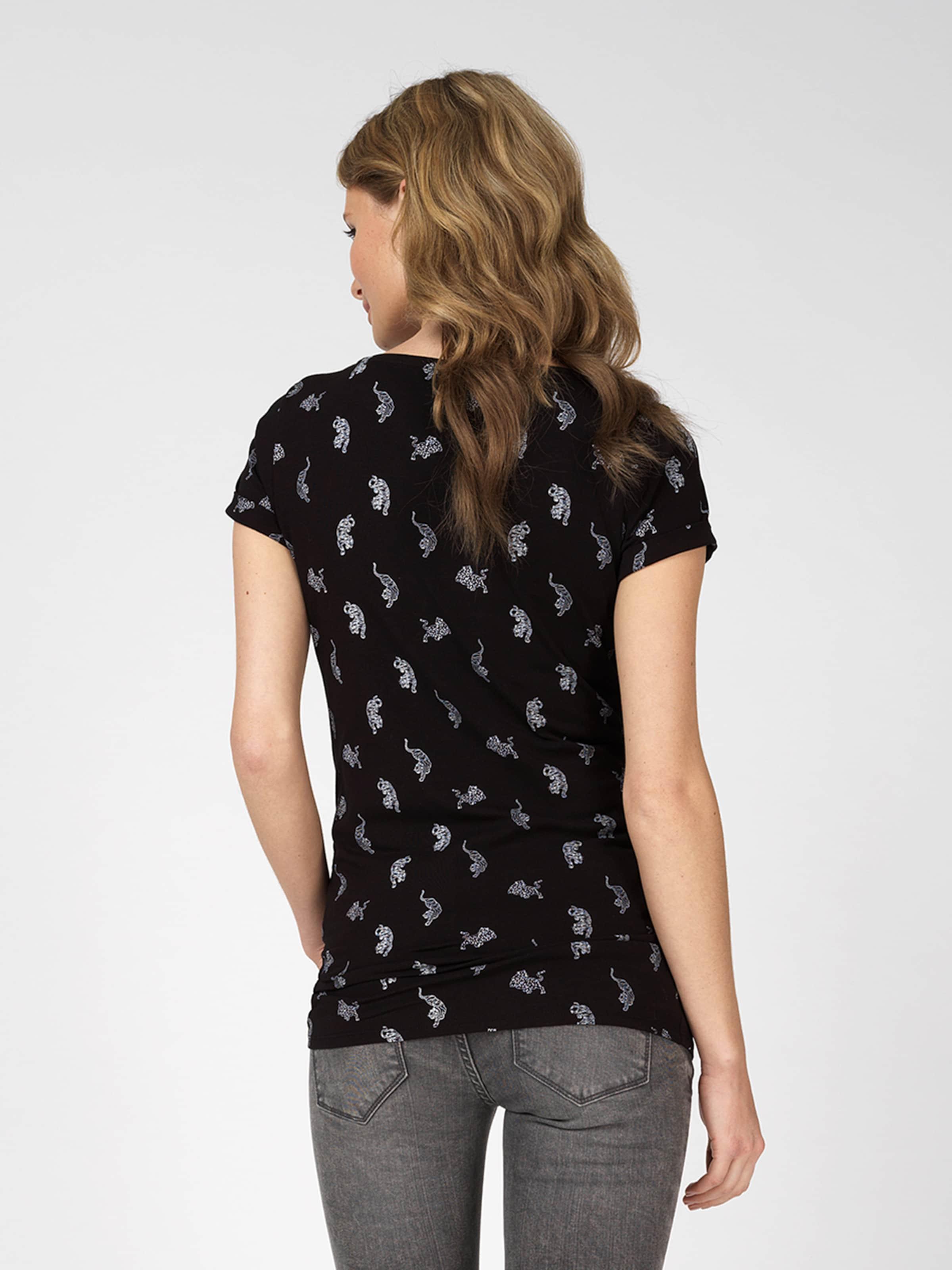 ' shirt T Tiger Supermom In Aop Schwarz dxoCBe