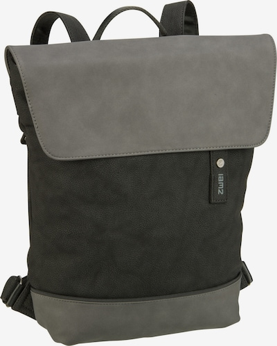ZWEI Rucksack 'Jana' in grau / schwarz, Produktansicht