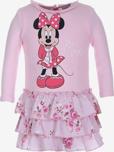 DISNEY Kleid 'Minnie Mouse' in pink / hellpink / schwarz / weiß, Produktansicht