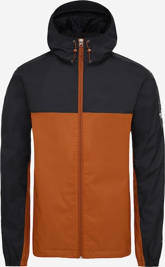 THE NORTH FACE Regenjacke 'Mountain Q' in braun / schwarz, Produktansicht