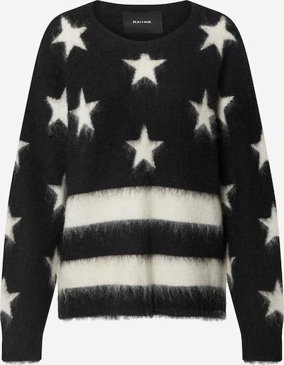 RAIINE Pullover 'Frisco' in schwarz / weiß, Produktansicht