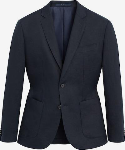 MANGO MAN Veste de costume en bleu marine, Vue avec produit