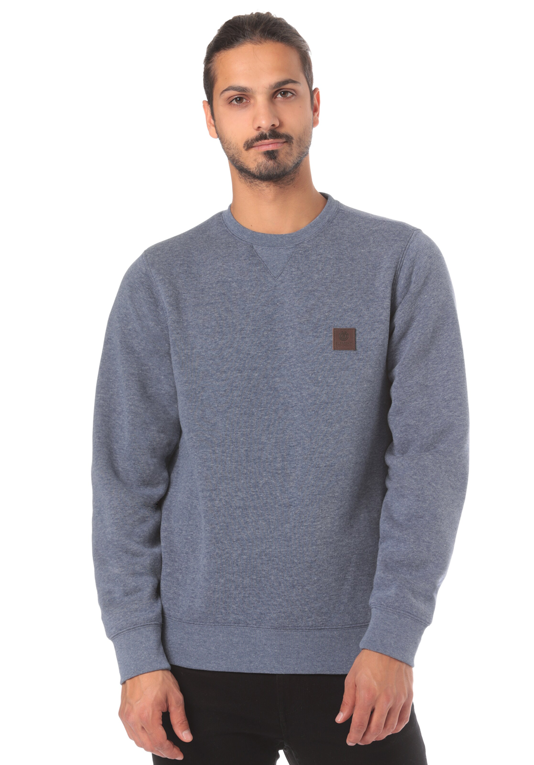 'heavy In Element Blau Sweatshirt Crew' cSA54RLq3j