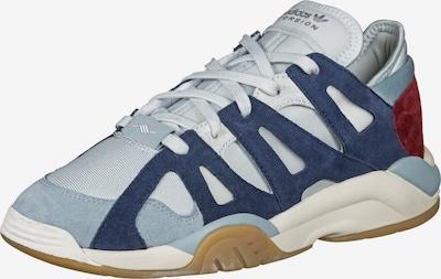 ADIDAS ORIGINALS Schuhe 'Dimension Lo' in hellblau / dunkelblau / dunkelrot: Frontalansicht
